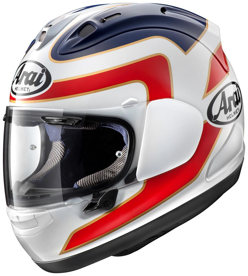 five key points about arai 39 s new rx 7v mcn. Black Bedroom Furniture Sets. Home Design Ideas