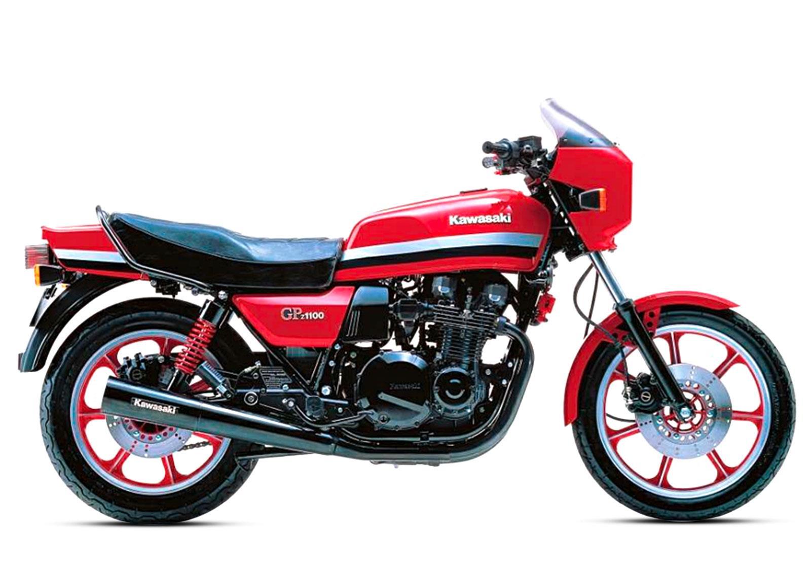 Kawasaki Gpz1100  The Last King Of A Vanished Clan