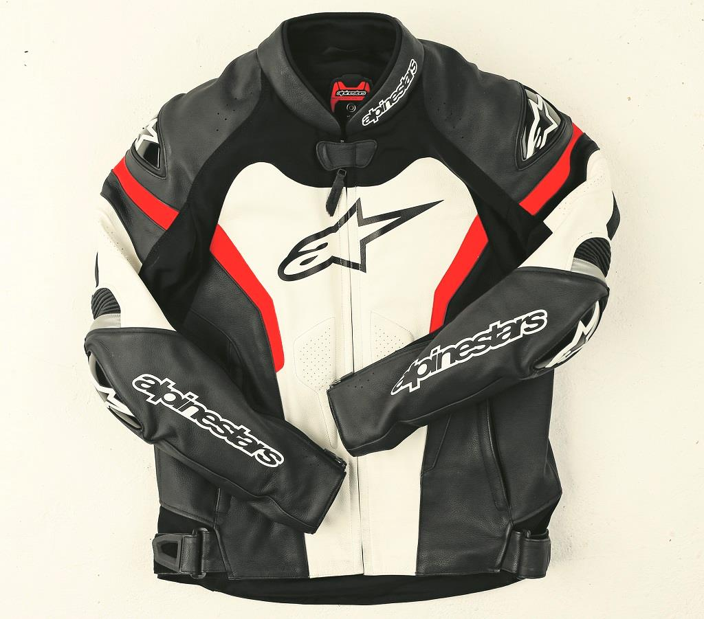 product review alpinestars gp pro leather jacket mcn. Black Bedroom Furniture Sets. Home Design Ideas