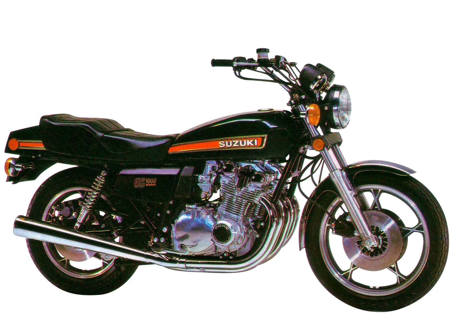 Suzukis First Ever Litre Bike The Gs1000 Engine Stripped Harley Davidson Firing Order Diagram Share This Article