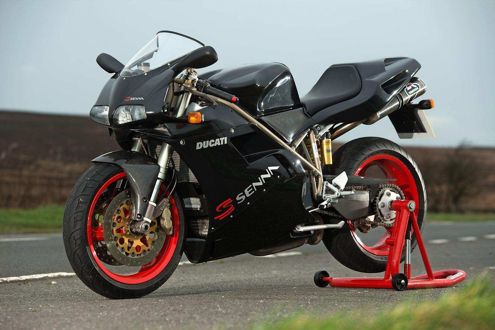 ducati 916 senna had you forgotten how much you wanted one of these mcn. Black Bedroom Furniture Sets. Home Design Ideas