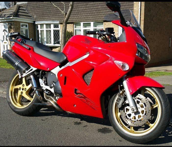 Bike Of The Day Honda Vfr800 Mcn