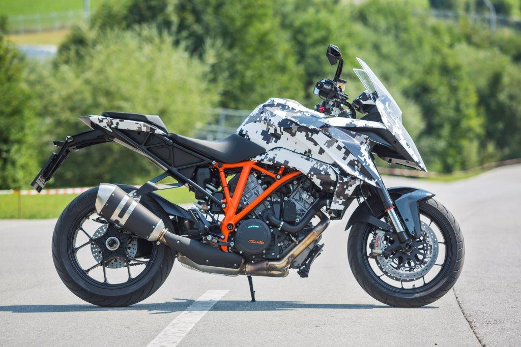 ktm 1290 super duke gt prototype tested | mcn