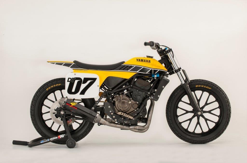 Yamaha USA creates MT-07 flat-track concept   MCN