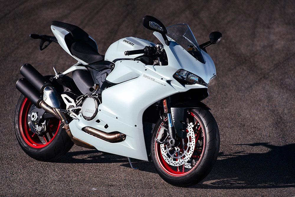 White Ducati