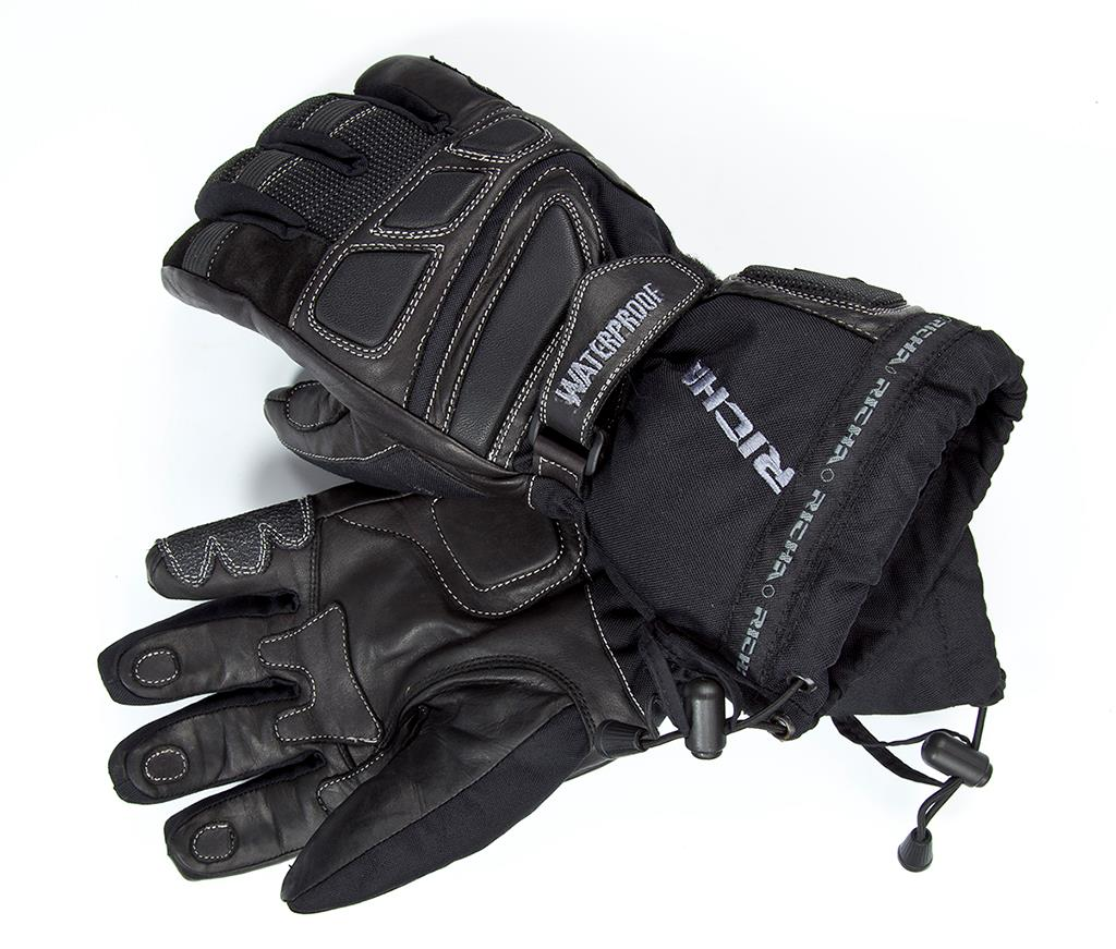 Motorcycle gloves ratings - Product Review Richa Carbon Winter Waterproof Gloves 34 99