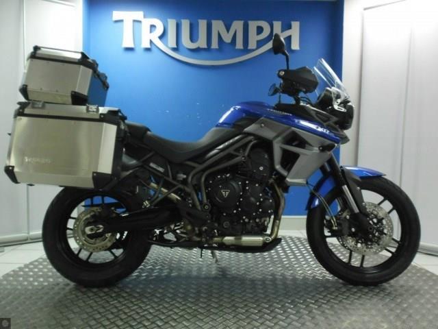 bike of the day triumph tiger 800 xrx mcn. Black Bedroom Furniture Sets. Home Design Ideas
