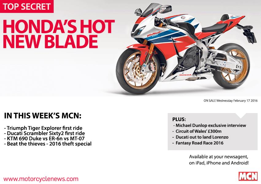 New MCN February 17: Hondau0027s New Fireblade