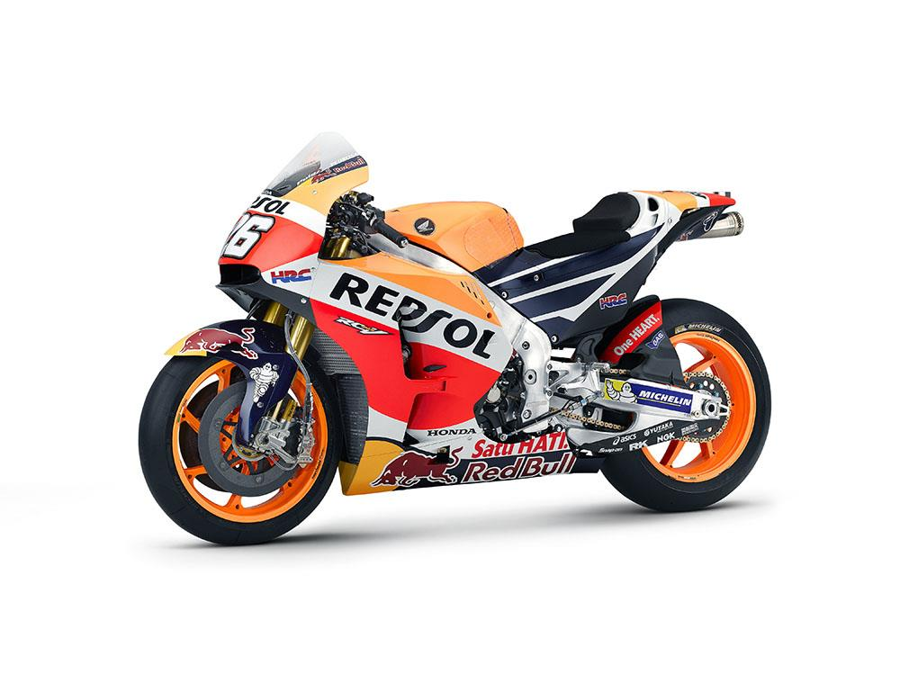 Repsol Honda unveil largely unchanged 2016 livery | MCN