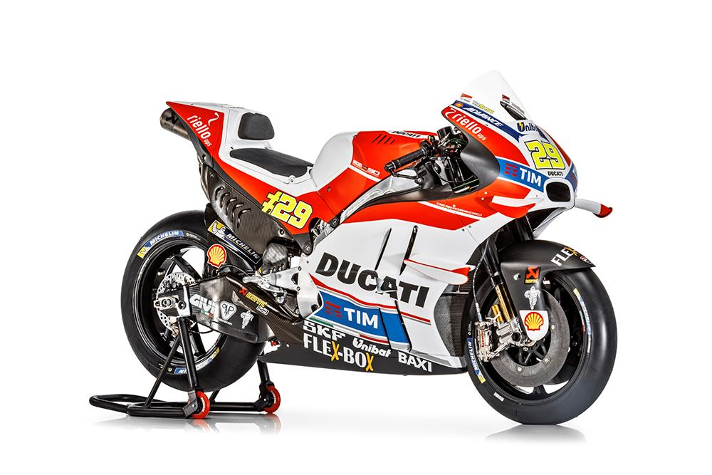 Ducati roll out painted wings on new GP16 | MCN