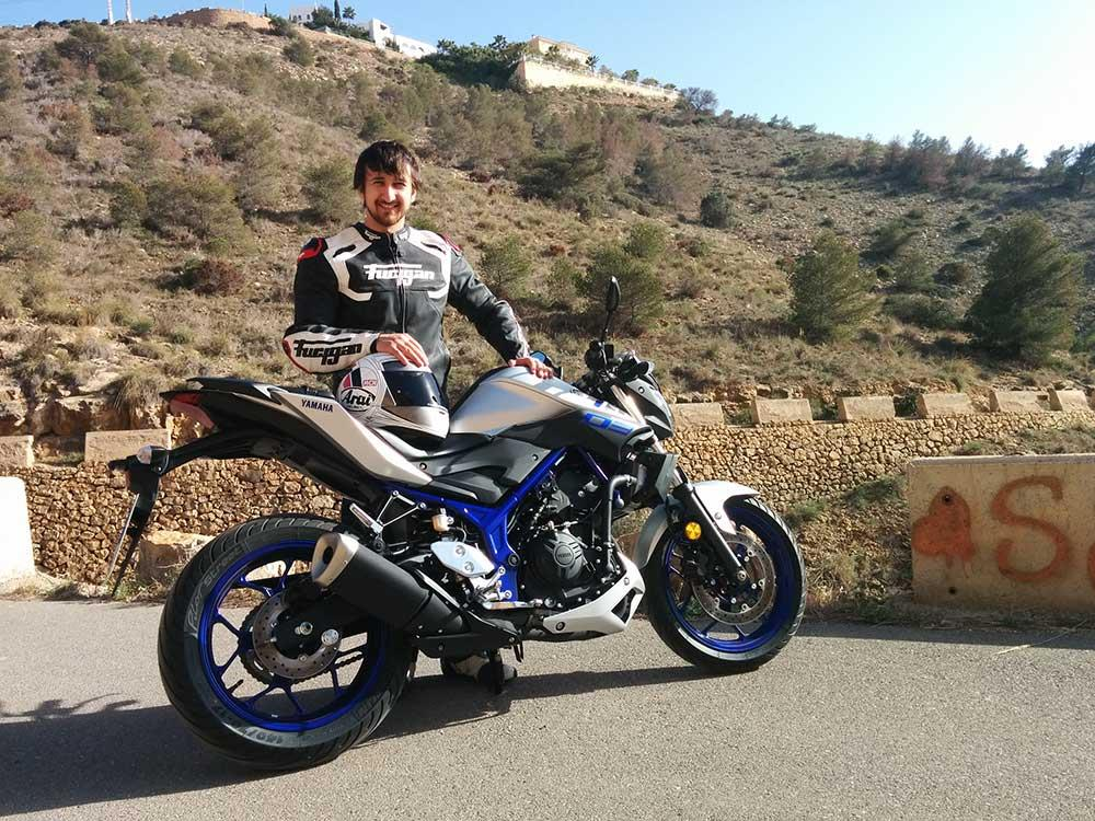 Yamaha mt 03 first ride mcn for Yamaha mt 03