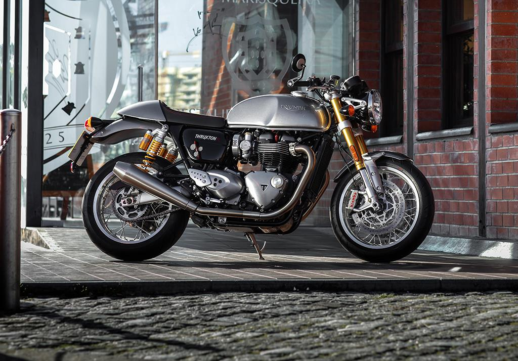 triumph thruxton 1200 2016 on review specs prices mcn. Black Bedroom Furniture Sets. Home Design Ideas