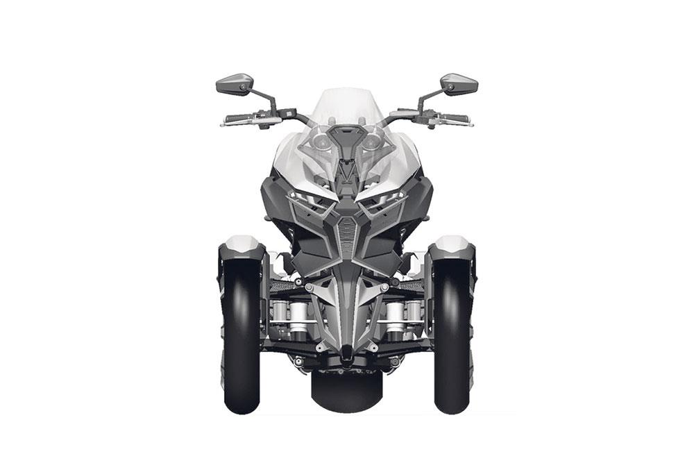 Superb ... New Patents Confirm Three Wheel Honda Neowing Will Be Landing Soon