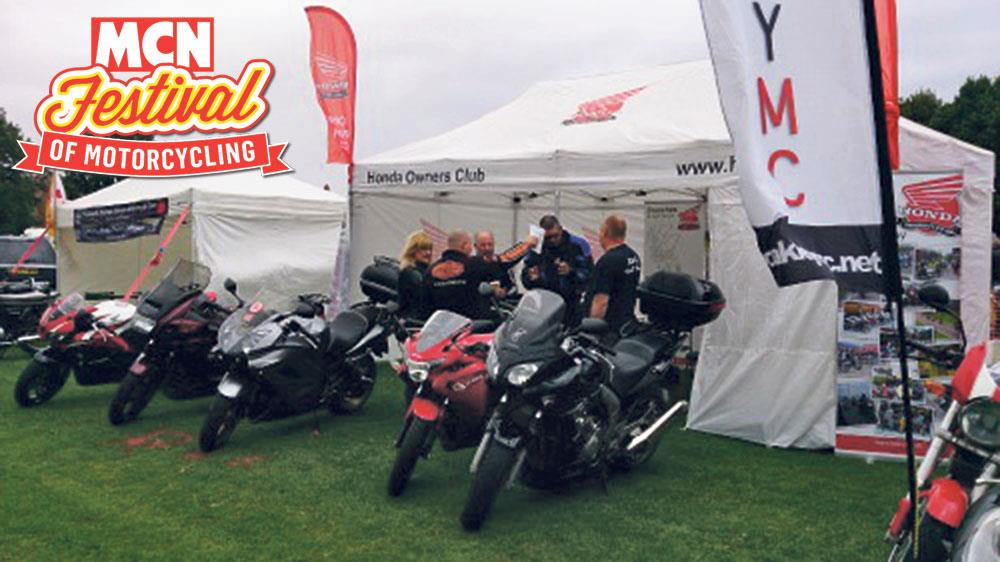 more clubs than ever at the mcn festival!   mcn