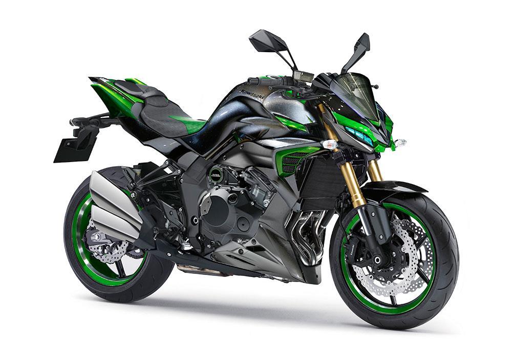 Kawasakis Supercharged Retro