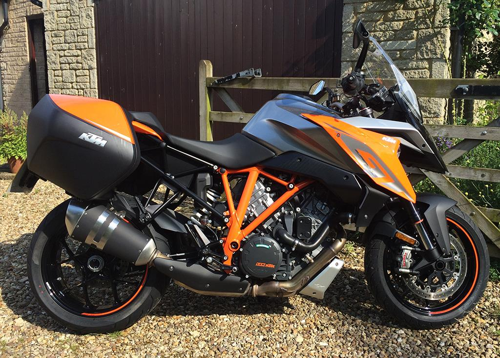 mcn fleet ktm super duke gt goes posh at goodwood mcn. Black Bedroom Furniture Sets. Home Design Ideas