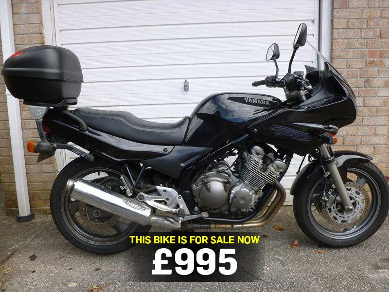 bike of the day yamaha xj600 diversion mcn. Black Bedroom Furniture Sets. Home Design Ideas