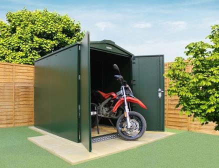 Win this SafeStor motorcycle storage unit
