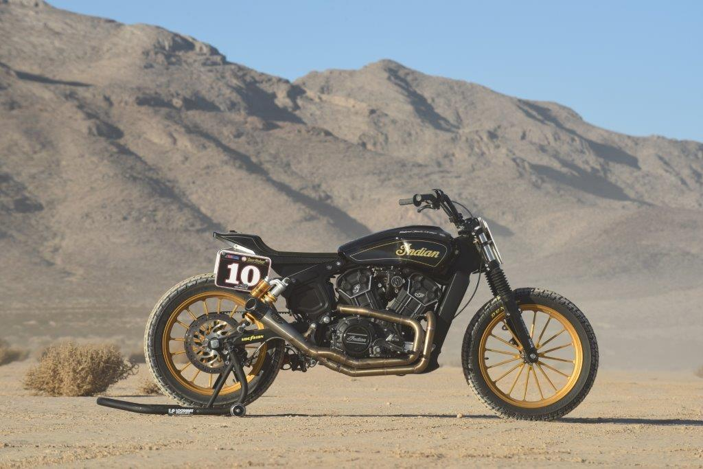 Flat Out On Indian S Hooligan Scout Sixty Mcn