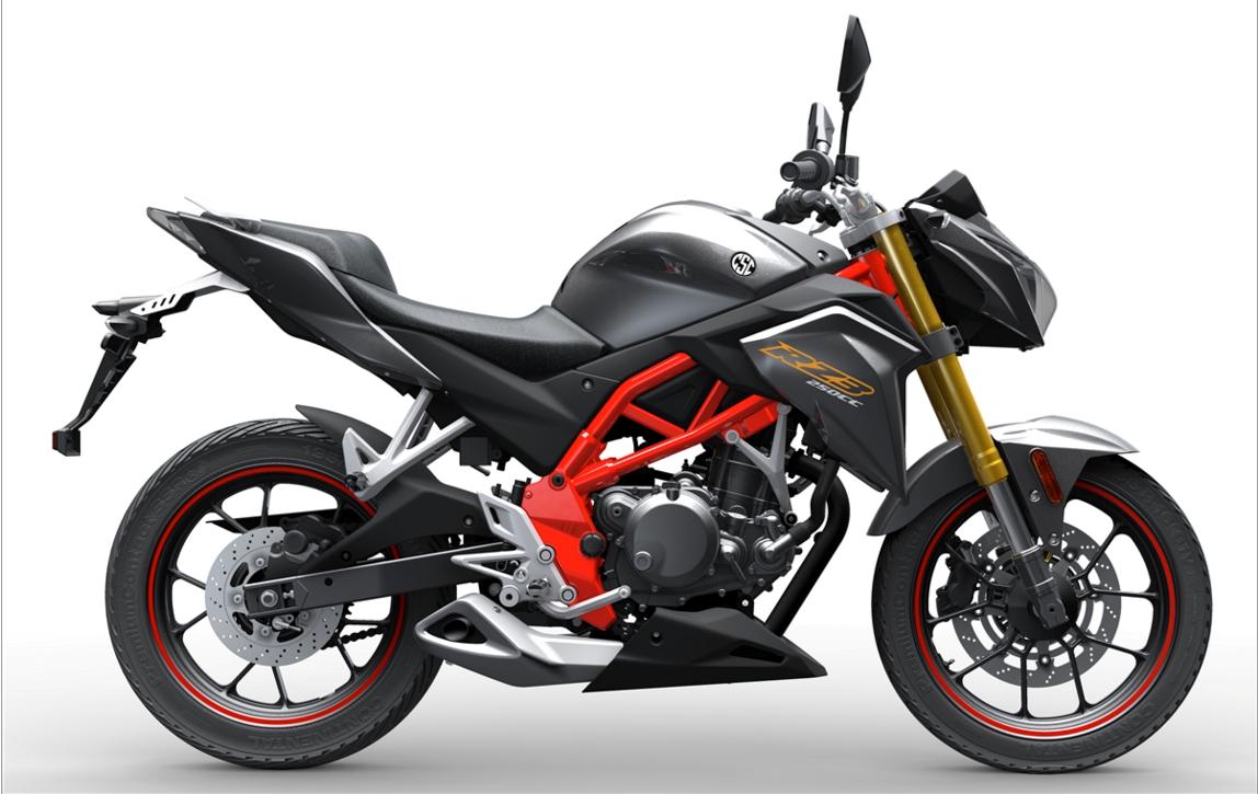New naked 250 revealed   MCN