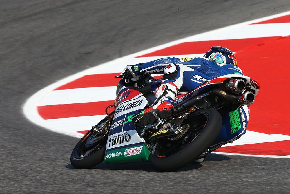 Moto3: 2015 winner Bastianini tops first day at Misano   MCN
