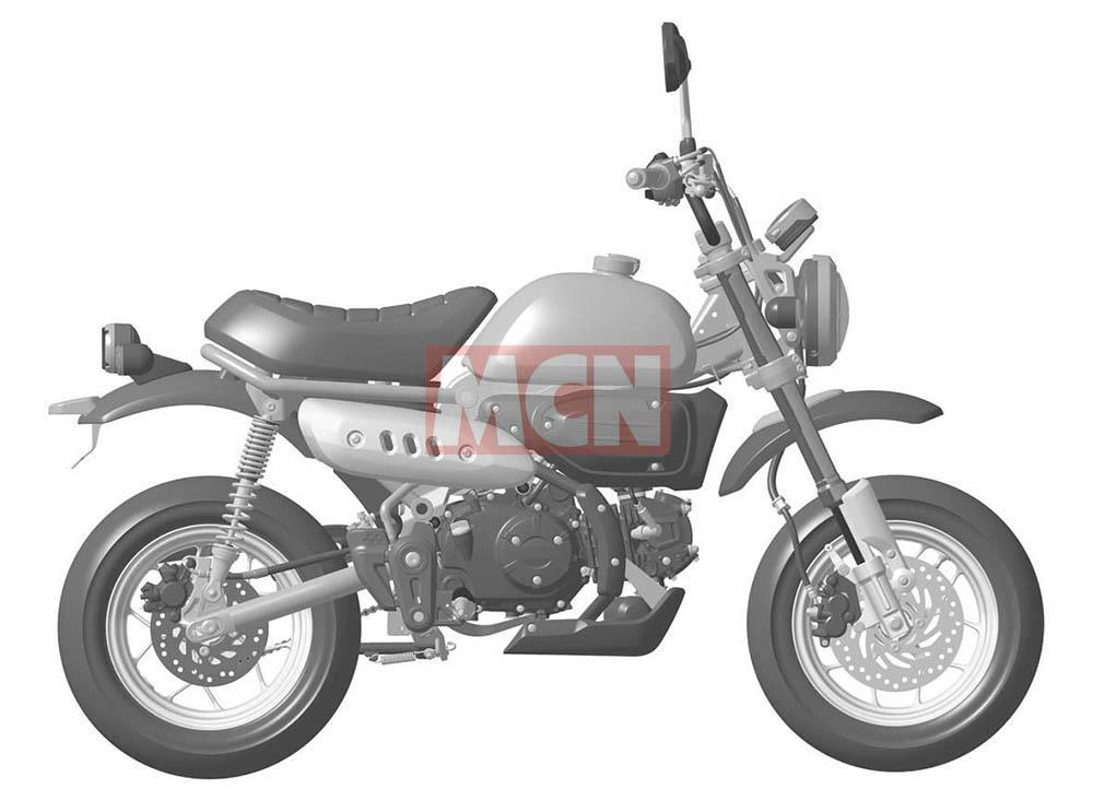 all new honda monkey 125 on the way mcn. Black Bedroom Furniture Sets. Home Design Ideas