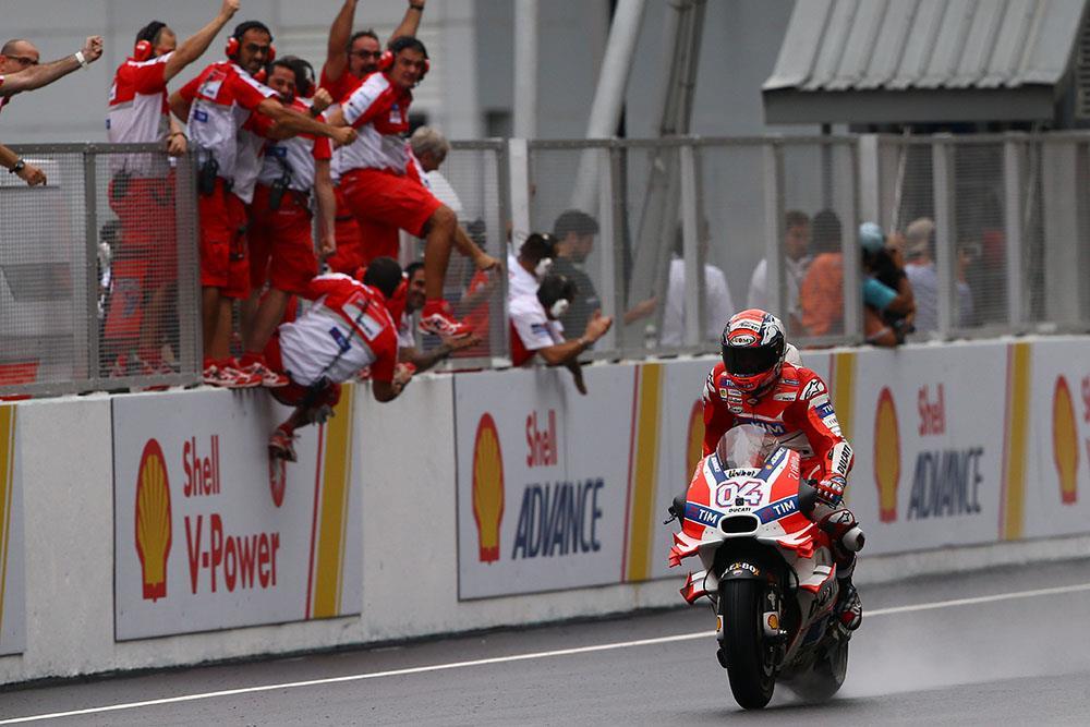 MotoGP: Dovi dominates in the rain to become winner number nine   MCN