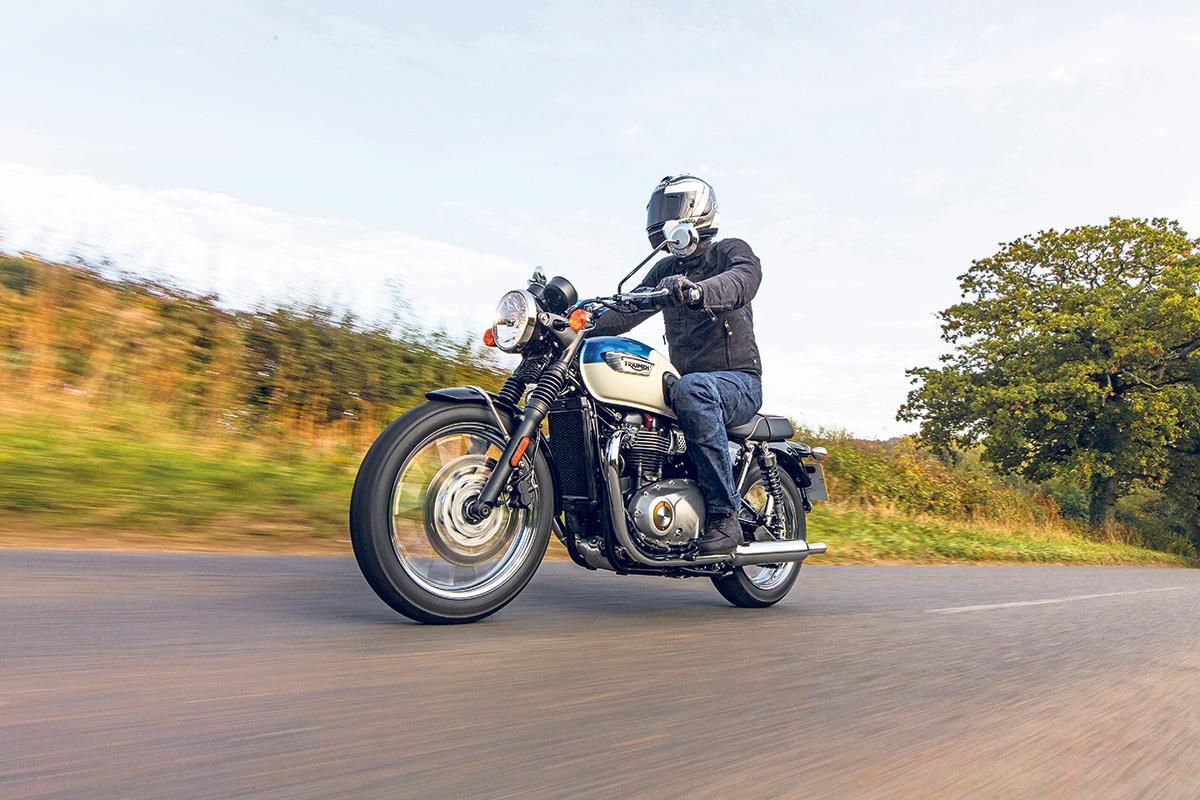 Triumph Bonneville T100 2017 On Motorcycle Review Mcn