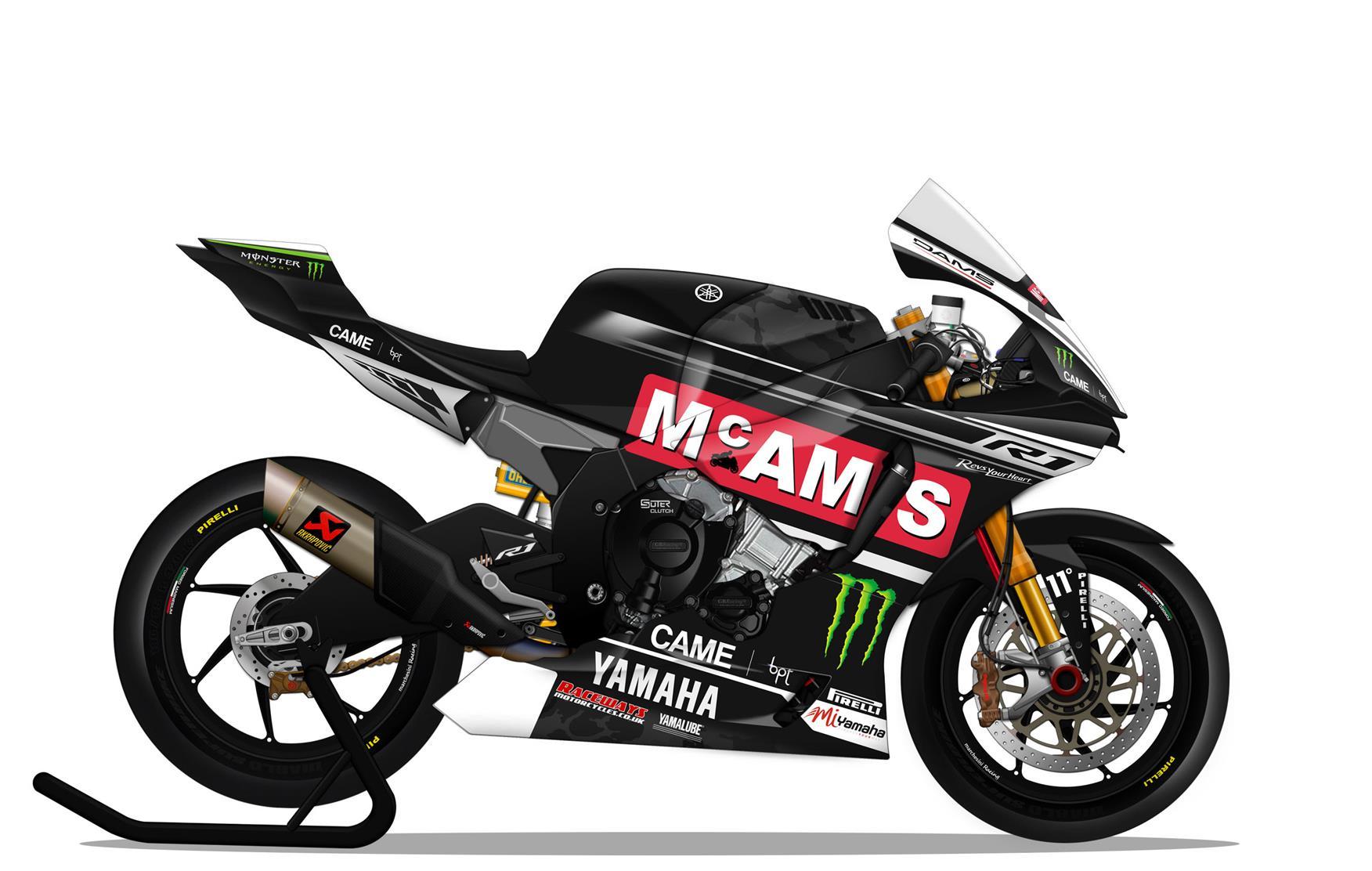 Mcams Yamaha Supersport