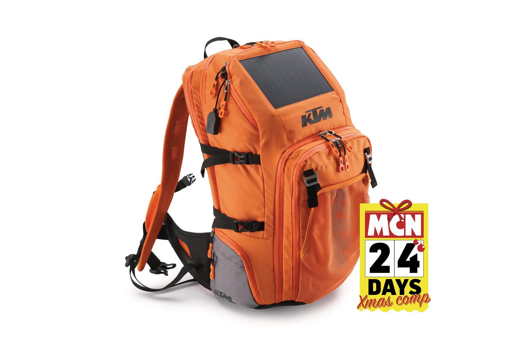 ktm solar rucksack