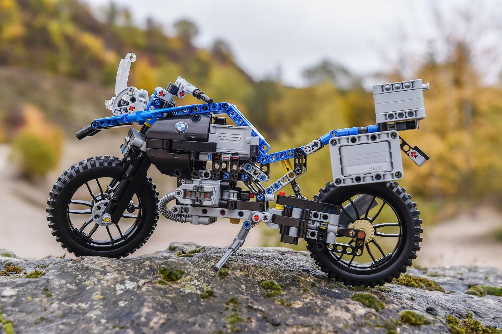 James is good at not putting bikes together, so maybe the Lego GS will help