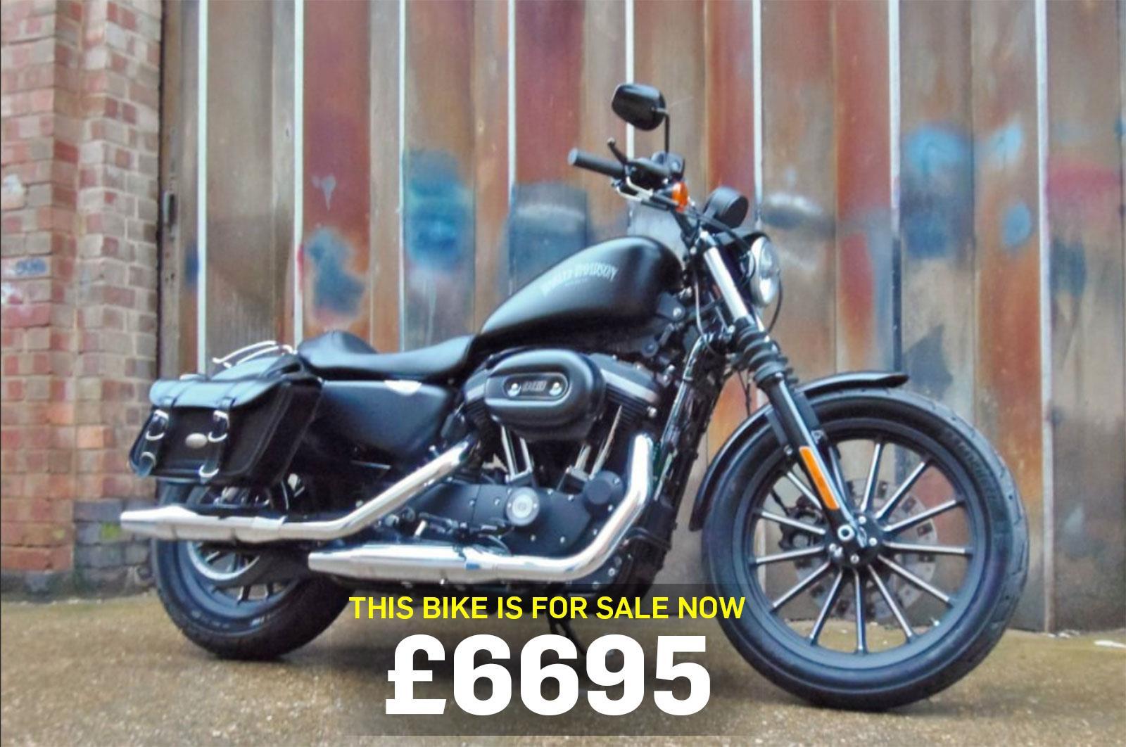 Bike of the day: Harley-Davidson Sportster 883   MCN