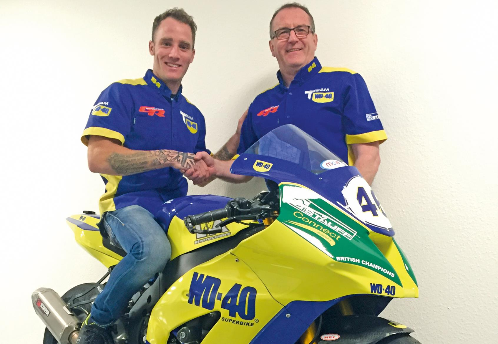 Bennetts Motorbike Insurance >> BSB: Team WD40 sign Bridewell for 2017