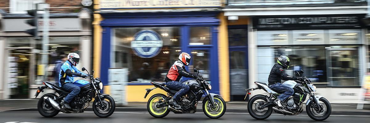 Moving On Up Kawasaki Z650 Vs Yamaha Mt 07 Vs Suzuki Sv650