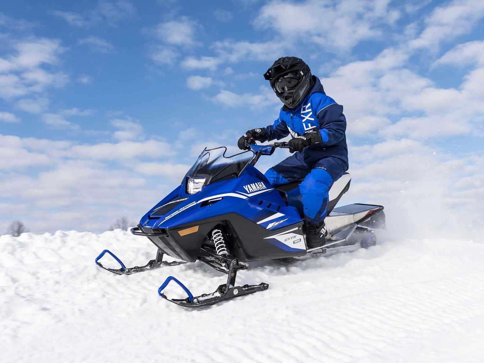 Yamaha releases range of celebratory snowmobiles mcn for Yamaha snow mobiles