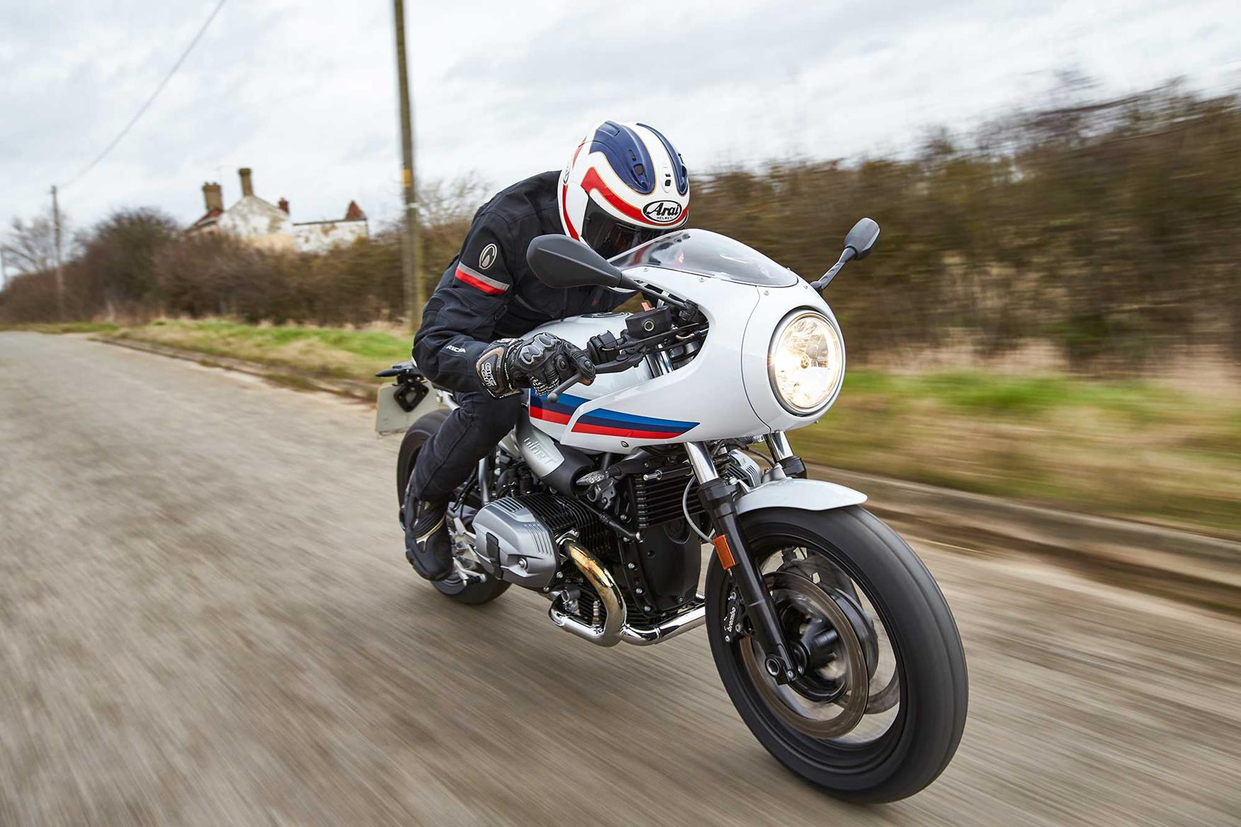 uk exclusive bmw r ninet racer first ride mcn. Black Bedroom Furniture Sets. Home Design Ideas