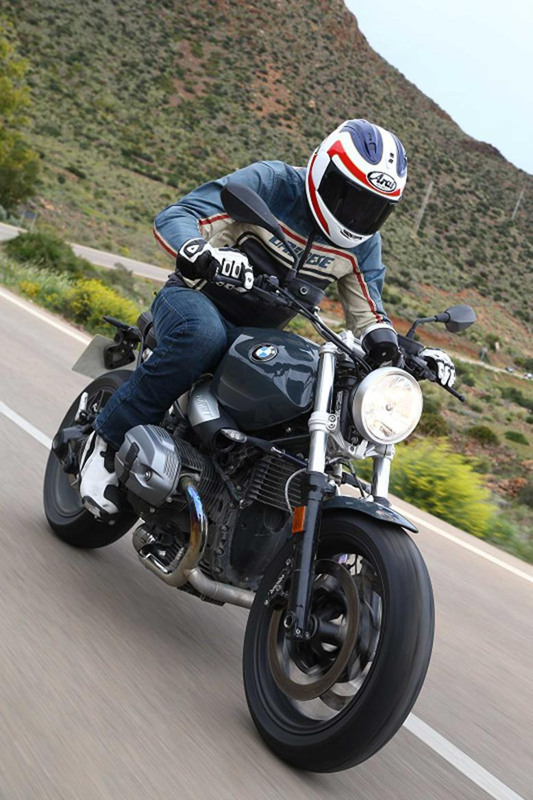 bmw r ninet pure 39 a charming motorcycle 39 mcn. Black Bedroom Furniture Sets. Home Design Ideas