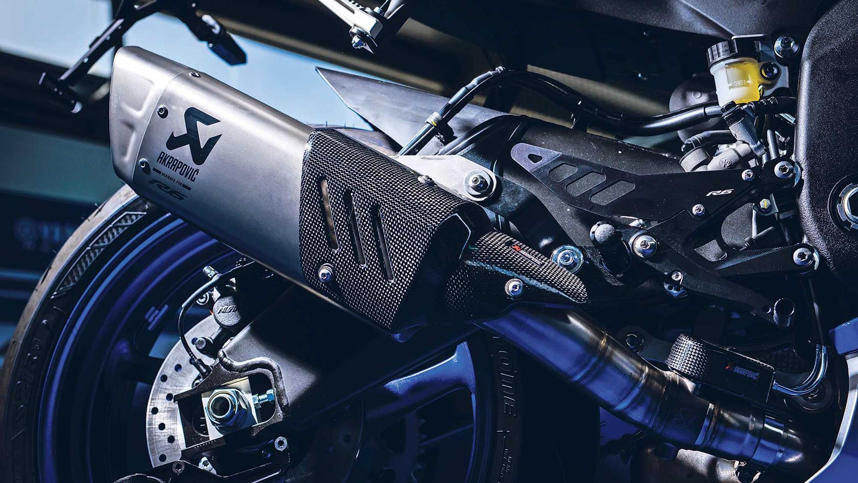 Video Yamaha R6 First Ride
