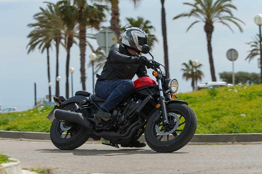Honda Cmx500 Rebel 2017 On Review Mcn