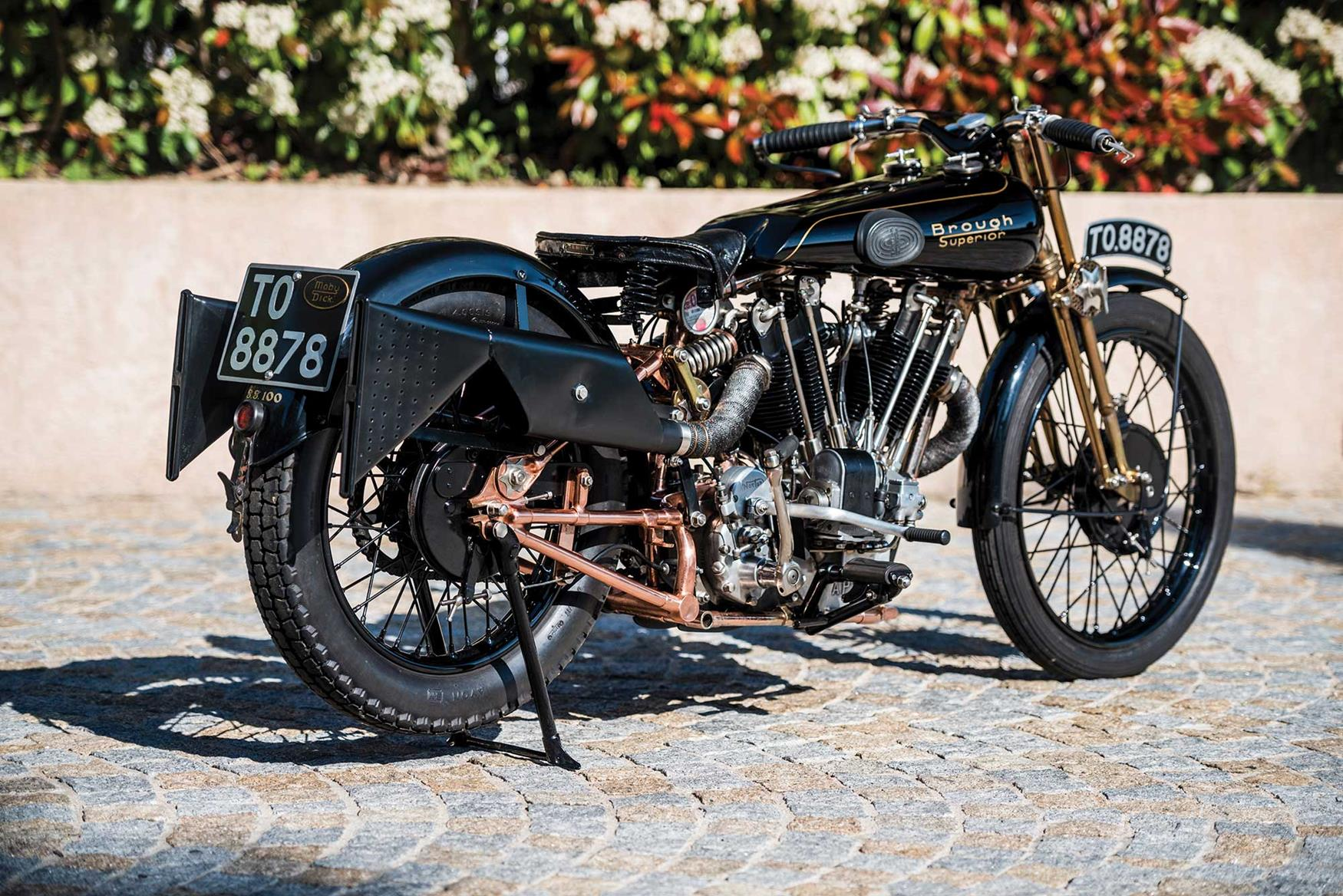 1928 Brough Superior Moby Dick To Be Sold For 589 000 Mcn