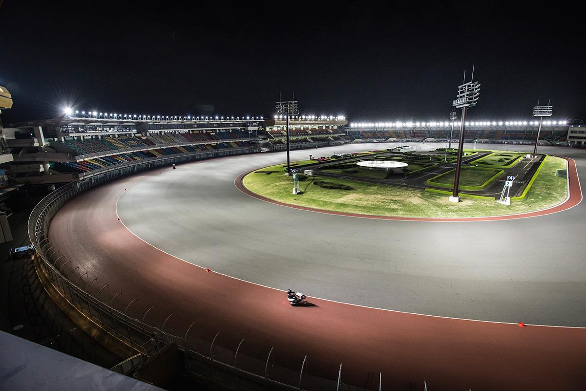 The Kawaguchi Auto Race facility