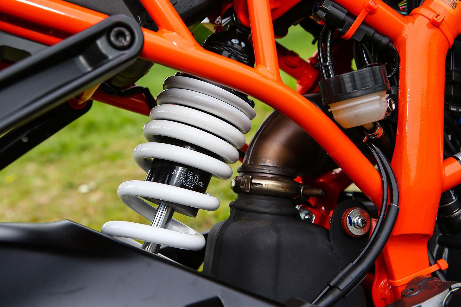 KTM RC390 rear shock