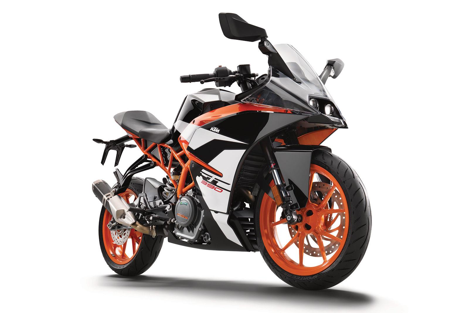 first ride: 2017 ktm rc390 – getting rc | mcn