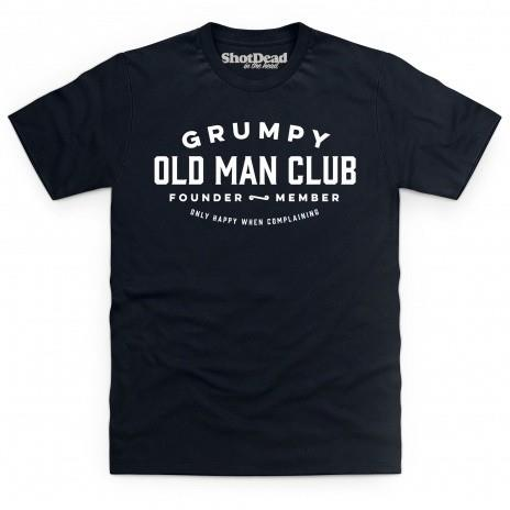 Grumpy old man club t-shirt