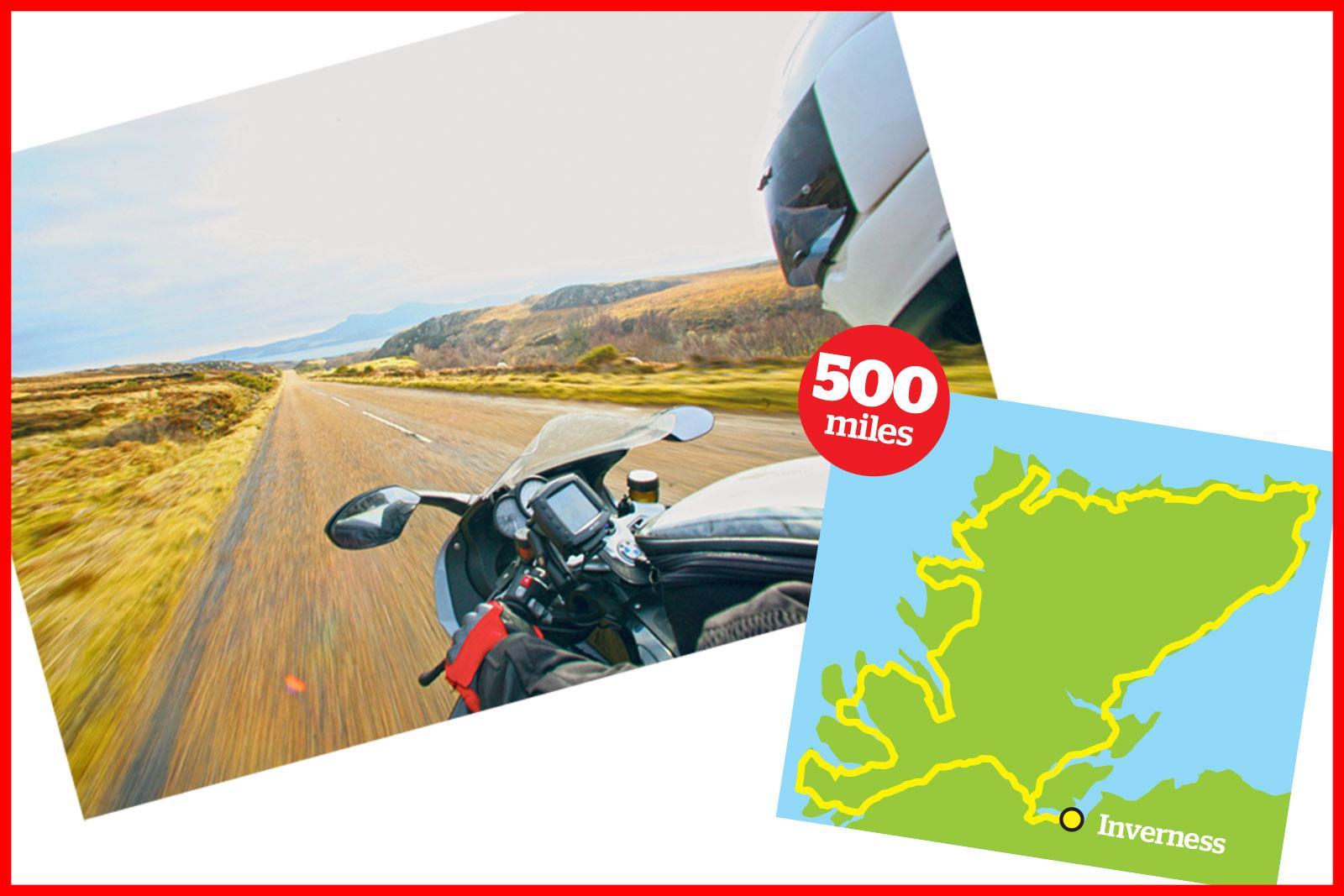 North Coast 500 ride