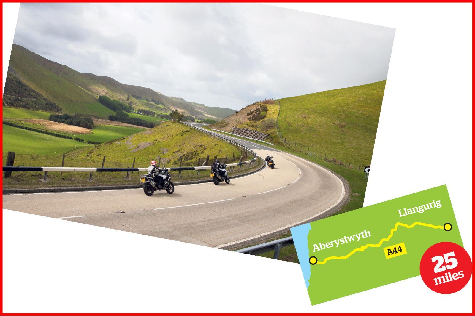 Llangurig to Aberystwyth