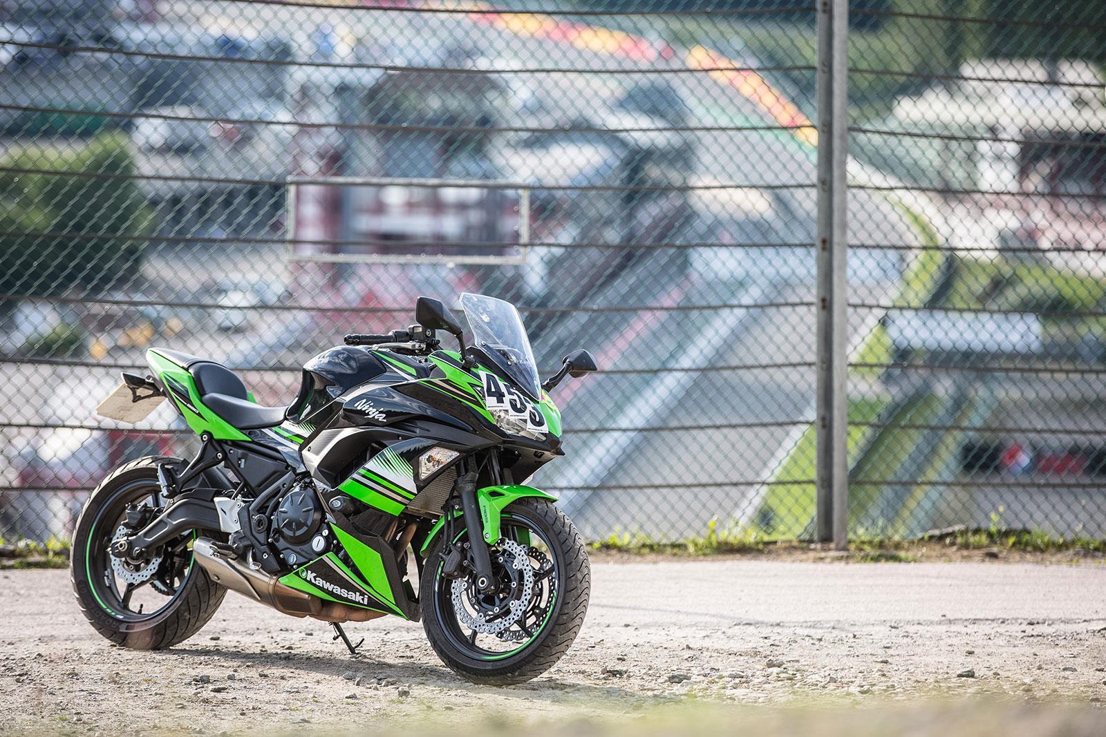 Kawasaki Ninja 650 at Spa Francorchamps