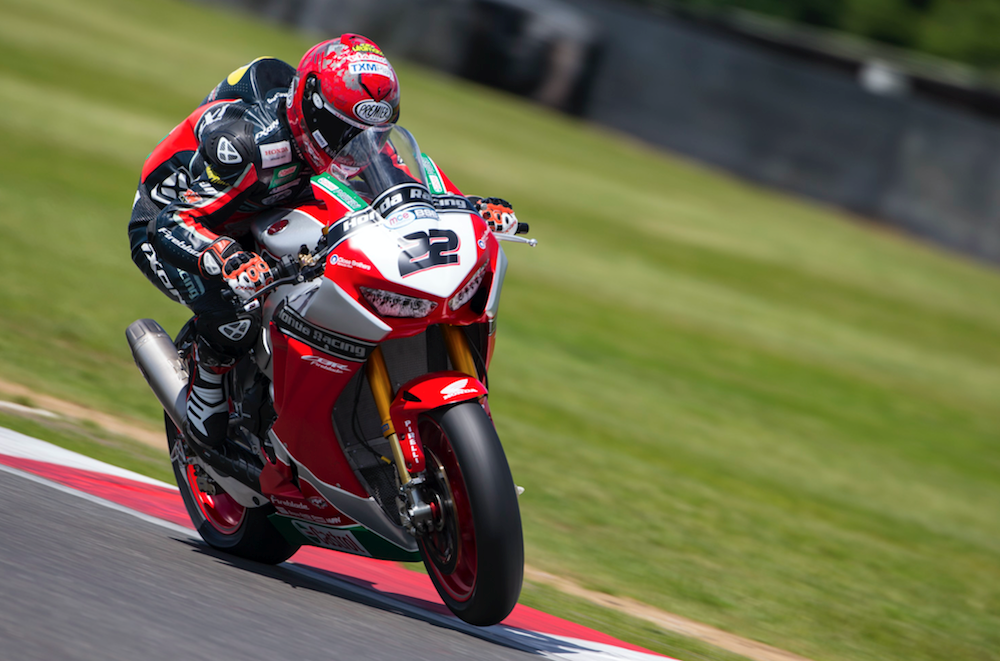 BSB: O'Halloran takes Honda back to the top at Snetterton test   MCN