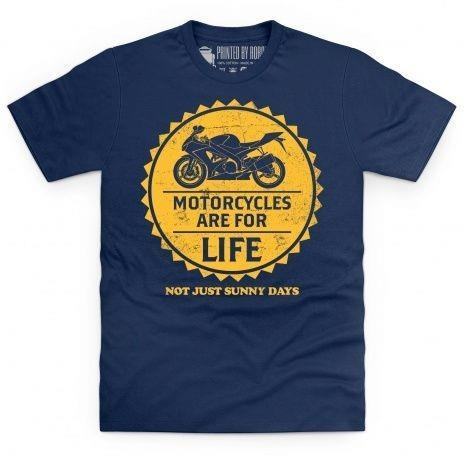 Sunny days motorcycle t-shirt