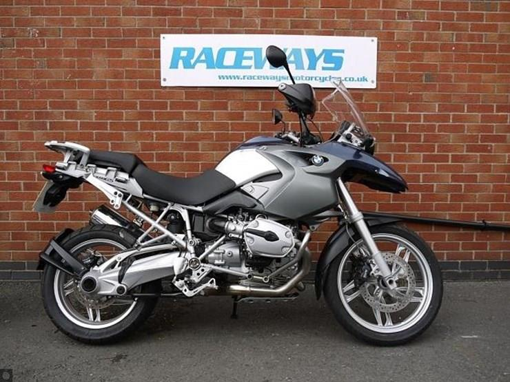 BMW R1200GS motorcycle for sale